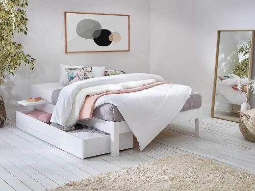 Platform Bed Storage